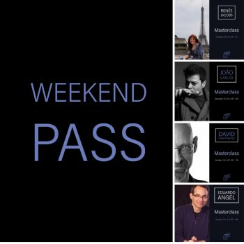 weekend masterclass pass